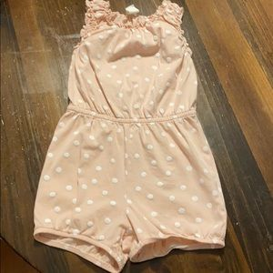 Toddler girls cotton romper